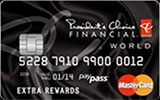 Learn more about President's Choice World MasterCard issued by President's Choice Financial
