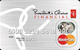 PC Financial Prepaid MasterCard issued by President's Choice Financial