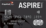 Aspire Travel World Elite MasterCard issued by Capital One Canada