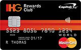 Learn more about IHG Rewards Club World MasterCard issued by Capital One Canada