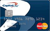 Guaranteed Secured MasterCard issued by Capital One Canada