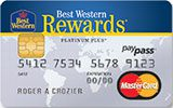 Best Western Rewards Credit Card issued by MBNA