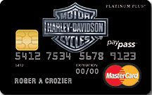Learn more about Harley-Davidson Platinum Plus MasterCard issued by MBNA