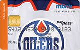 Edmonton Oilers Rewards Platinum Plus MasterCard issued by MBNA