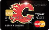 Calgary Flames Rewards Platinum Plus MasterCard issued by MBNA