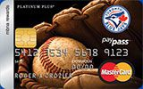 Toronto Blue Jays Rewards Platinum Plus MasterCard issued by MBNA