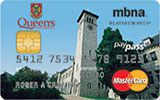Learn more about Queen's University Rewards Platinum Plus MasterCard issued by MBNA