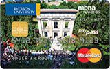 Ryerson University Rewards Platinum Plus MasterCard issued by MBNA