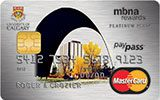 University of Calgary Rewards Platinum Plus MasterCard issued by MBNA