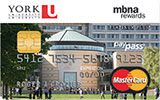 Learn more about York University Rewards Platinum Plus MasterCard issued by MBNA