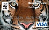 World Wildlife Fund Credit Card issued by Bank of America