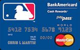 MLB Credit Cards issued by Bank of America