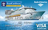 Royal Caribbean Visa Signature Credit Card issued by Bank of America
