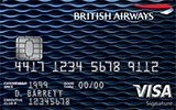 British Airways Visa Signature Card issued by Chase Bank