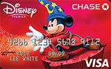 Disney Premier Visa Card  issued by Chase Bank
