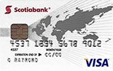 Scotiabank Rewards VISA Card issued by Scotiabank