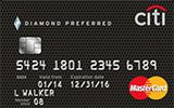Citi Diamond Preferred Card issued by Citi Bank