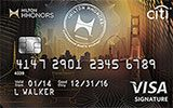 Learn more about Citi Hilton HHonors Visa Signature Card issued by Citi Bank