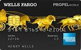 Learn more about Wells Fargo Propel World American Express Card  issued by Wells Fargo