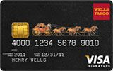 Wells Fargo Cash Back Visa Signature Card issued by Wells Fargo