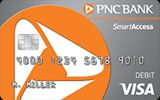 Learn more about  PNC SmartAccess Prepaid Visa Card issued by PNC Bank
