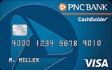 PNC CashBuilder Visa Credit Card issued by PNC Bank