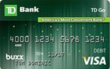 Learn more about TD Go Reloadable Prepaid Visa Card issued by TD Bank