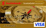 Learn more about ScotiaGold Passport VISA card for travel issued by Scotiabank
