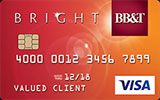 Learn more about BB&T Bright Card issued by BB&T
