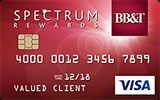 Learn more about BB&T Spectrum Rewards Credit Card issued by BB&T
