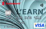 L'earn VISA Card issued by Scotiabank