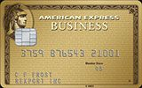 Business Gold Rewards Card issued by American Express