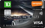 Learn more about TD Aeroplan Visa Infinite Card issued by TD Canada Trust