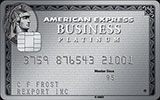 Business Platinum Card issued by American Express