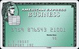 Business Green Rewards Card issued by American Express