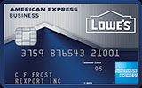 Lowe's Business Rewards Card from American Express issued by American Express