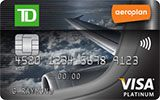 Learn more about TD Aeroplan Visa Platinum Card issued by TD Canada Trust