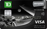 Learn more about TD Aeroplan Visa Infinite Privilege Card issued by TD Canada Trust