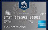 USAA Rewards American Express issued by The United Services Automobile Association (USAA)