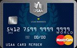 USAA Rewards World MasterCard issued by The United Services Automobile Association (USAA)