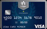 USAA Rewards Visa issued by The United Services Automobile Association (USAA)