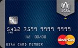 USAA Rate Advantage Platinum MasterCard issued by The United Services Automobile Association (USAA)
