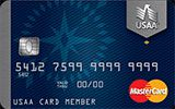 USAA Classic Platinum MasterCard issued by The United Services Automobile Association (USAA)
