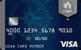 USAA Classic Platinum Visa issued by The United Services Automobile Association (USAA)