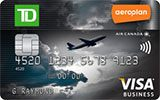 Learn more about TD Aeroplan Visa Business Card issued by TD Canada Trust