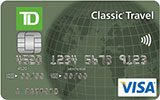 TD Classic Travel Visa Card issued by TD Canada Trust