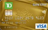 Learn more about TD Gold Elite Visa Card issued by TD Canada Trust
