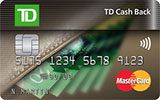 Learn more about TD Cash Back MasterCard Card issued by TD Canada Trust