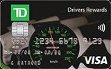 Learn more about TD Drivers Rewards Visa Card issued by TD Canada Trust