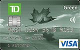 Learn more about TD Green Visa Card issued by TD Canada Trust
